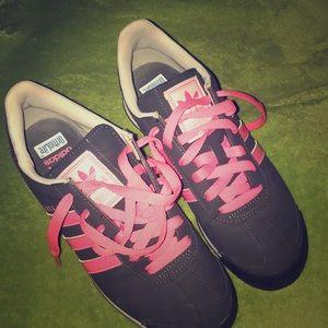 Hot Pink Adidas Samoa